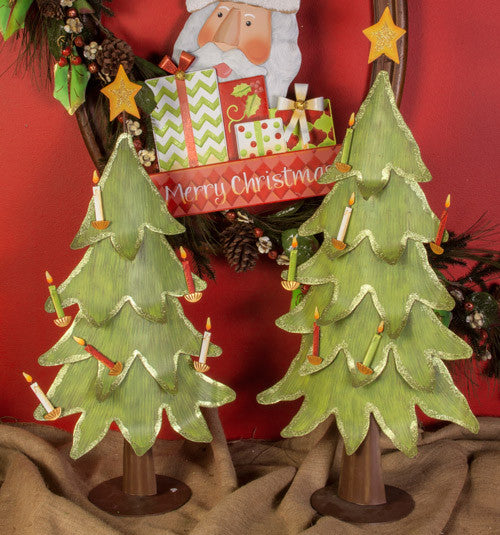 C4071 Christmas Ornament Trees- Asst 2 The Round Top Collection - FancySchmancyDecor