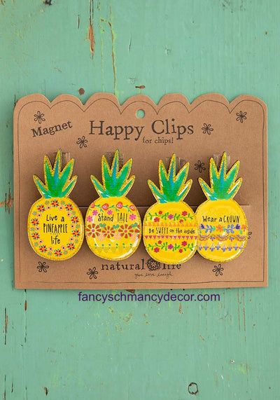 Happy Clips Pineapple by Natural Life