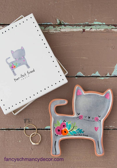 Cat Purr-fect Friend Sante Fe Dish by Natural Life