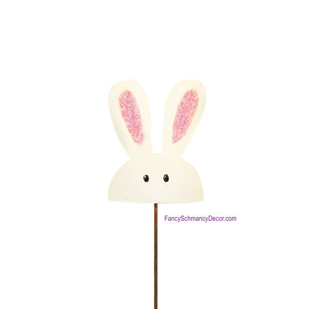 Peeking Bunny Mini Stake by The Round Top Collection E17016