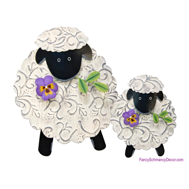 Embossed Lamb The Round Top Collection E18012