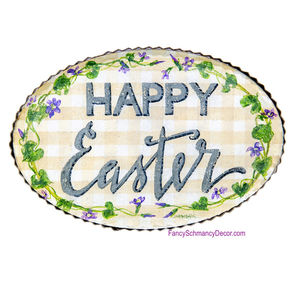 Gallery Happy Easter Sign by The Round Top Collection E19059
