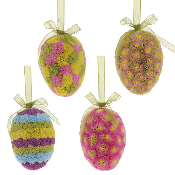 "5"" Easter Egg Ornament by RAZ Imports - FancySchmancyDecor"