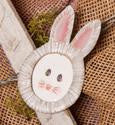 Bunny Picture Magnet The Round Top Collection E7002 - FancySchmancyDecor