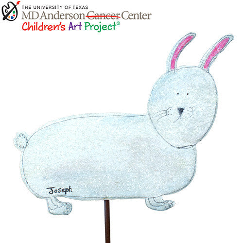 MD Anderson Joseph's Bunny Stake by The Round Top Collection E8058 - FancySchmancyDecor