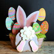 Easter Bunny Ears Yard The Round Top Collection E9080 - FancySchmancyDecor - 2