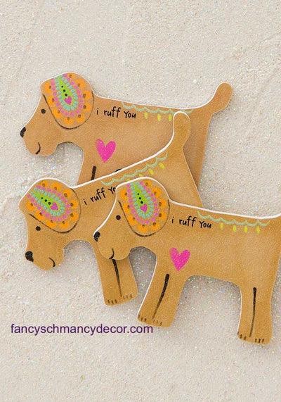 I Ruff You Dog Emery Boards by Natural Life