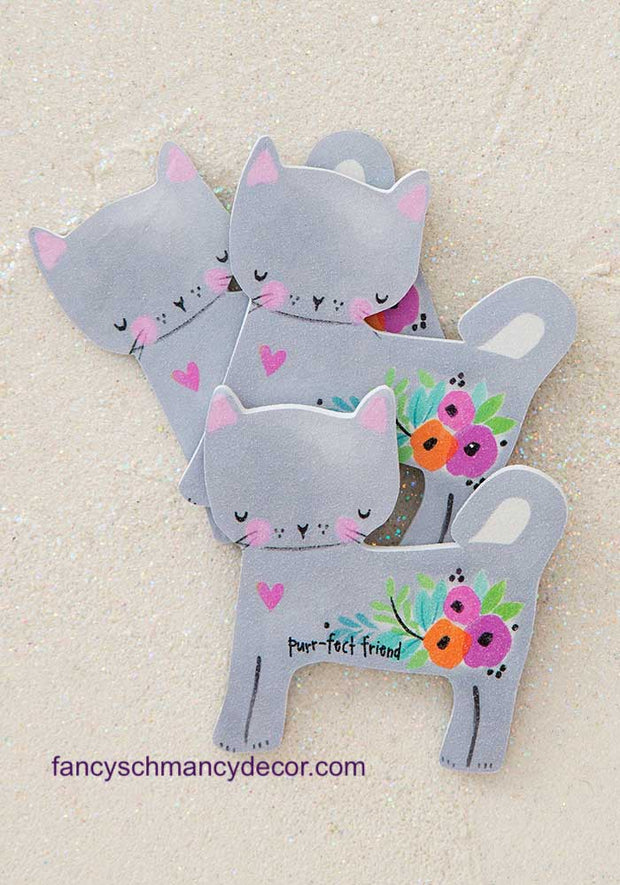 Purr-fect Friend Cat Emery Boards by Natural Life