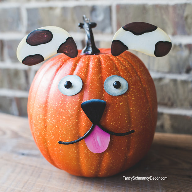 Puppy Pumpkin Parts The Round Top Collection F16047