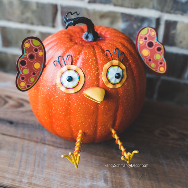 Owl Pumpkin Parts The Round Top Collection F7051