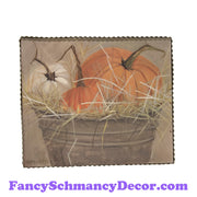 Gallery Bucket of Pumpkins by The Round Top Collection F17035