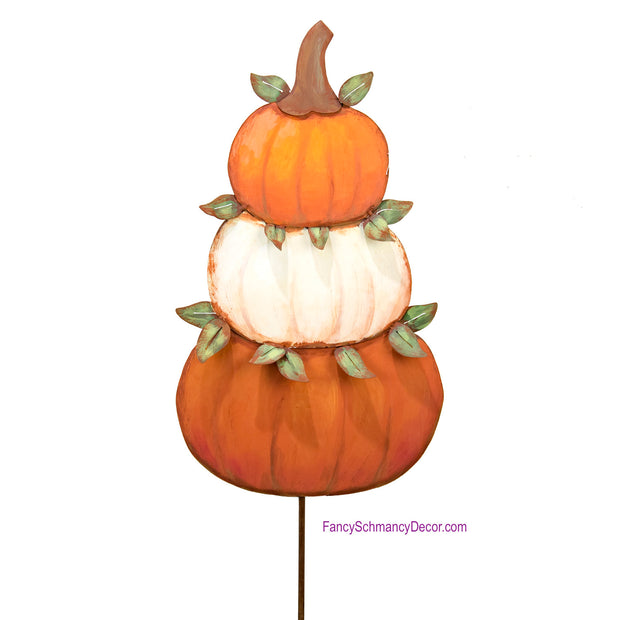 Pumpkin Topiary Medium by The Round Top Collection F18007