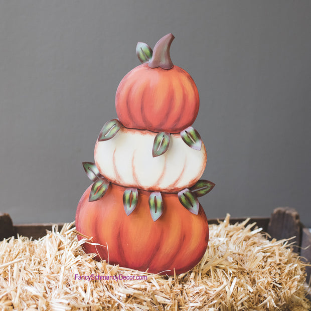 Pumpkin Topiary Small by The Round Top Collection F18008
