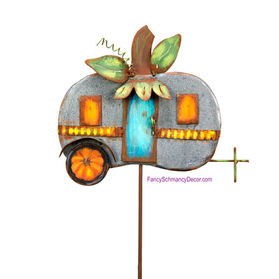 Pumpkin Camper by The Round Top Collection F18013