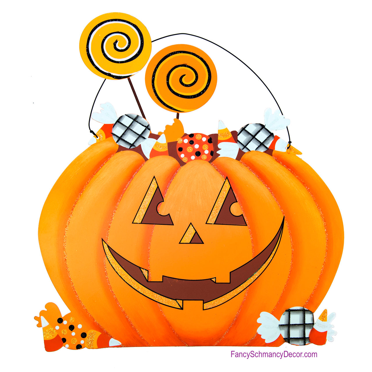 Whimsical Jack O'Lantern by The Round Top Collection F18085
