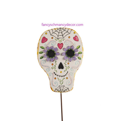 Day of the Dead Skull by The Round Top Collection