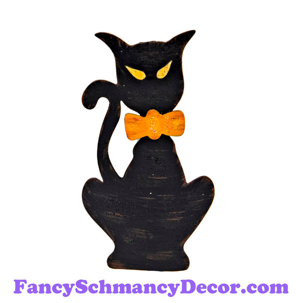 Black Cat Magnet by The Round Top Collection F18079