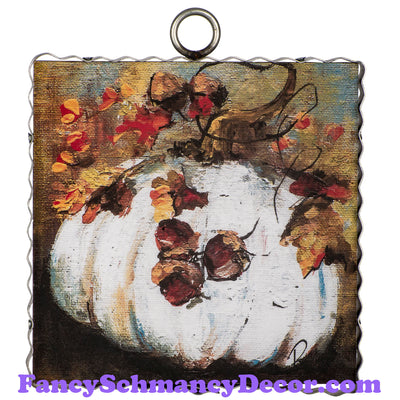 Rozie Cream Pumpkin by The Round Top Collection F19124