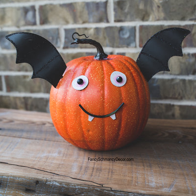 Bat Pumpkin Parts by The Round Top Collection F8001