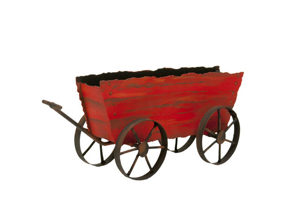 Red Hay Wagon by The Round Top Collection Y9034 - FancySchmancyDecor