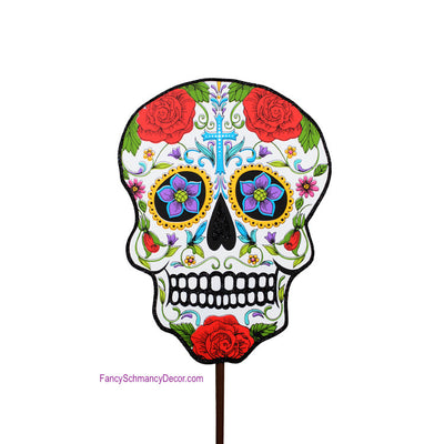 Day of the Dead Skull The Round Top Collection F9051