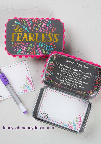 Be Fearless Prayer Box by Natural Life