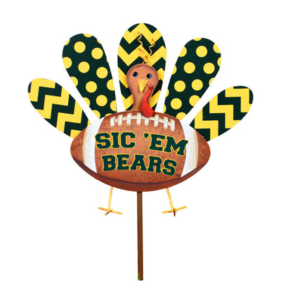 GF200-BU Baylor Turkey Stake by The Round Top Collection - FancySchmancyDecor