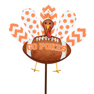GF200-OKS Oklahoma State University Turkey Stake by The Round Top Collection - FancySchmancyDecor