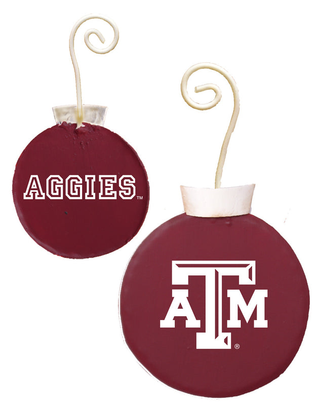 GTAM007 NCAA Texas A&M School Ornament The Round Top Collection - FancySchmancyDecor