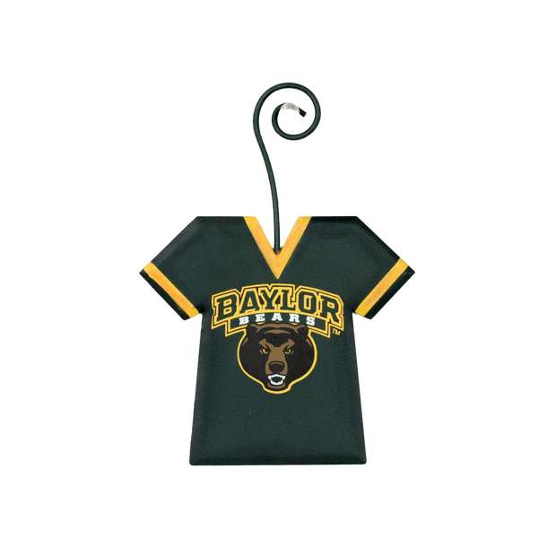 GY208-BU NCAA Baylor University Jersey School Ornament The Round Top Collection - FancySchmancyDecor