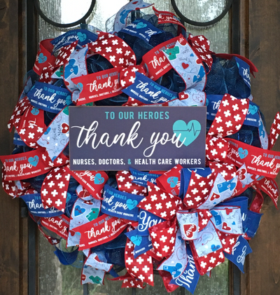 Healthcare Heros Wreath