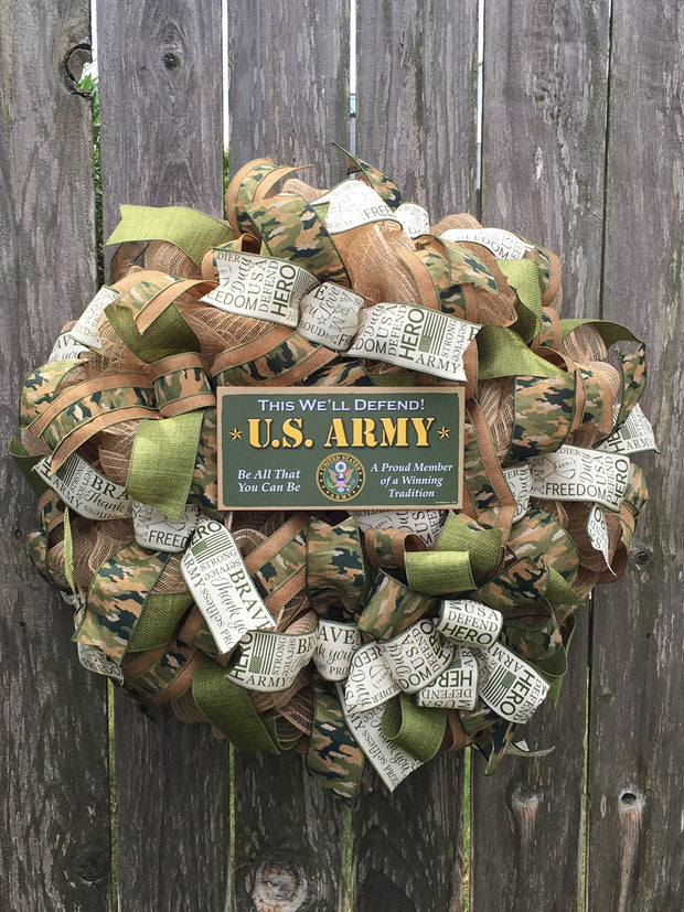 US Army Wreath