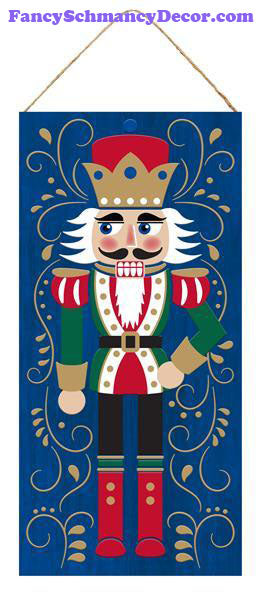 "12.5"" H X 6"" L Nutcracker W/Hand On Hip Sign"