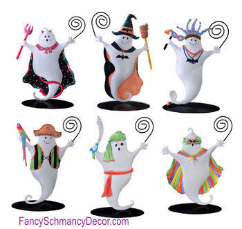 Kathy Hatch Halloween Ghost Costume Party Photo Holder by Sunset Vista Designs - FancySchmancyDecor
