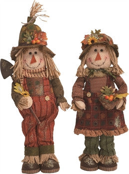 Standing Scarecrows - FancySchmancyDecor