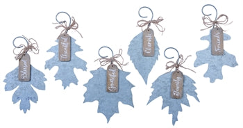 Fall Leaf Ornaments with Sayings