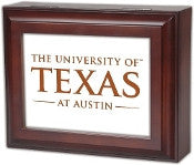 University of Texas - Longhorns Musical Jewelry Valet Box by Cottage Garden - FancySchmancyDecor - 1