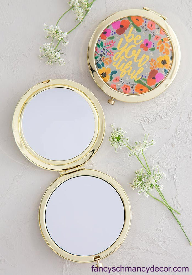 beYOUtiful Compact Mirror by Natural Life