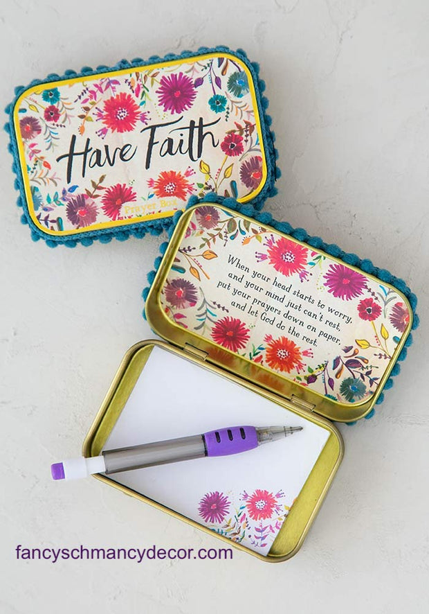 Have Faith Prayer Box by Natural Life