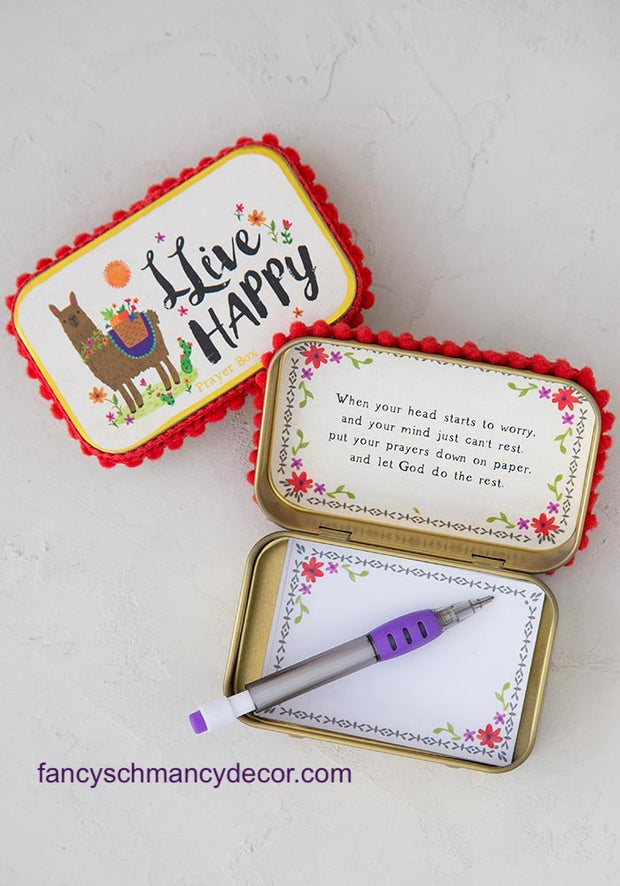 Llive Happy Prayer Box by Natural Life