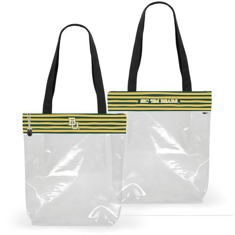 Clear Gameday Tote Purse Baylor University