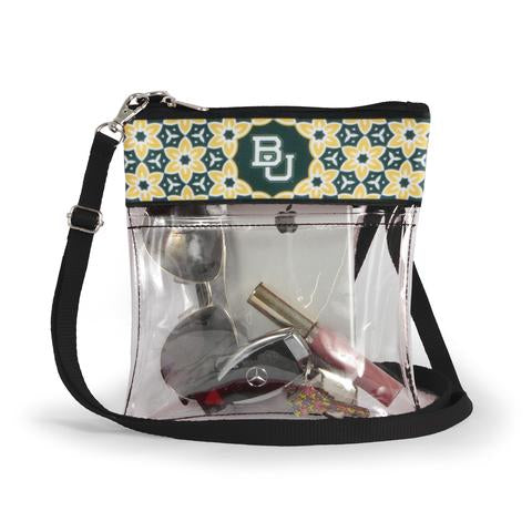 Clear Gameday Crossbody Purse Baylor University