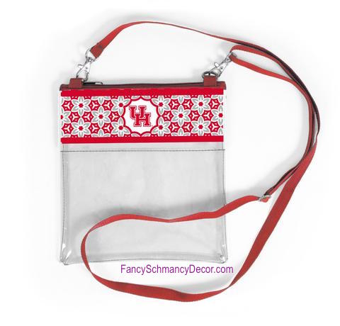Clear Gameday Crossbody Purse U 0f H University