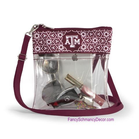 Clear Gameday Crossbody Purse Texas A&M University