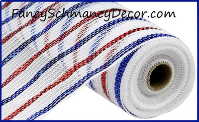 "21""X10yd Metallic Poly/Cotton Mesh"
