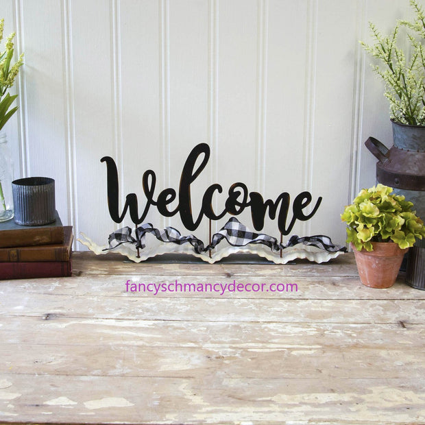 Welcome Ribbon by The Round Top Collection