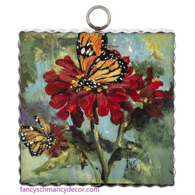 Mini Butterfly Heaven Print by The Round Top Collection