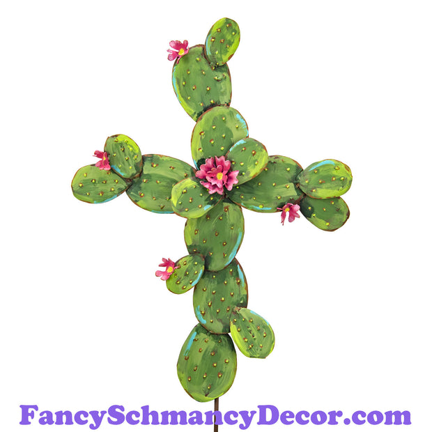 Cactus Cross by The Round Top Collection S19034