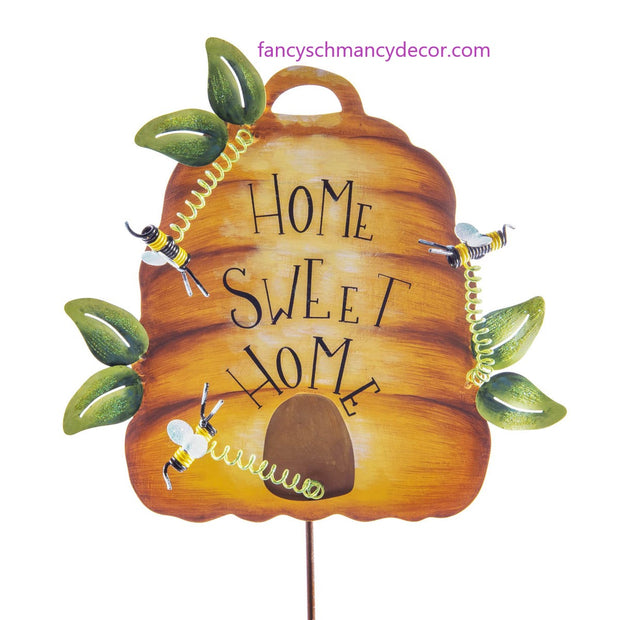 """Home Sweet Home"" Bee Hive by The Round Top Collection"