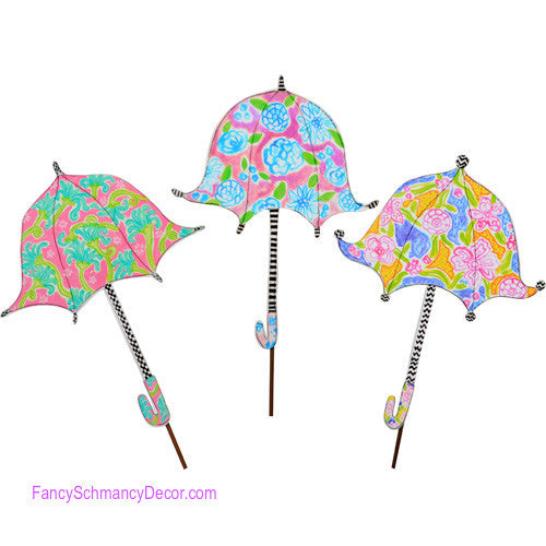 Happy Umbrella Stake by The Round Top Collection S8022 - FancySchmancyDecor